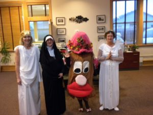 Blog- Halloween Costumes, Marla Dressed As A Nun